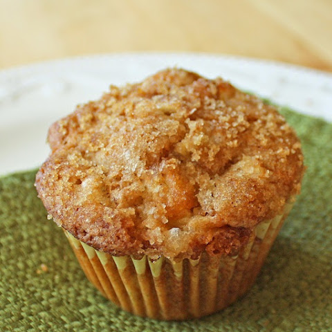 Oven Baked Apple-Cinnamon Muffins