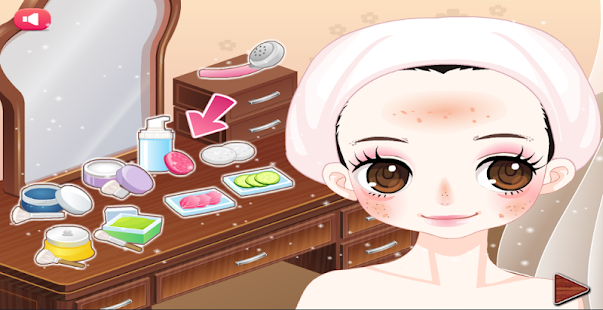 dressup game and makeove- screenshot thumbnail