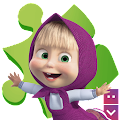 Masha and The Bear Puzzle Game APK for Bluestacks