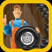 Tyre Repair Shop – Garage Game APK for Bluestacks