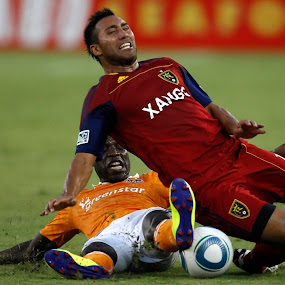 Tackle by Eric Smith - Sports & Fitness Soccer/Association football
