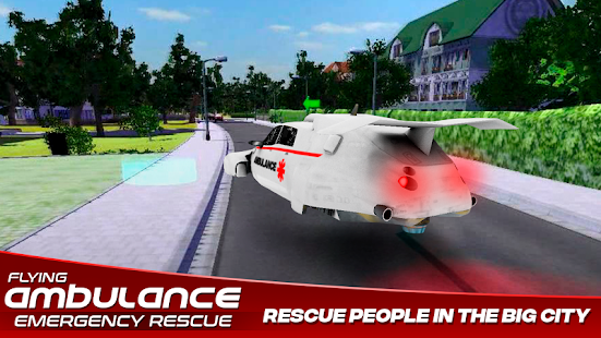 Flying Ambulance Emergency Rescue