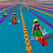 Download Full Swimming Pool Flip Diving Swimming Race 3D 1.0 APK