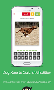 Dog Breeds Quiz Expert Edition - screenshot