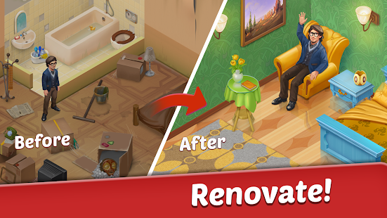 Family Hotel: Renovation & design match-3 game for pc