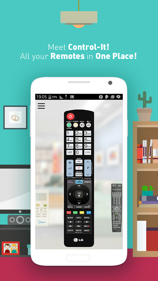 Control It – Remotes Unified! Screenshot