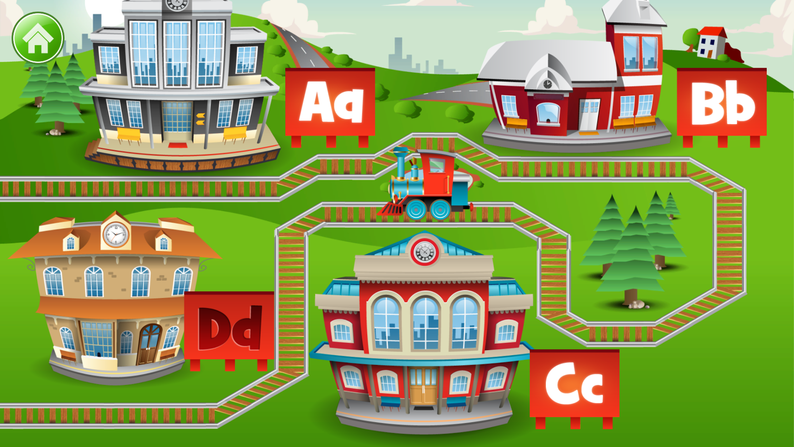 Kids ABC Letter Trains Screenshot 4