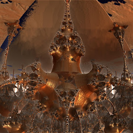 Ceiling Burn by Rick Eskridge - Illustration Sci Fi & Fantasy ( fantasy, ceiling, mb3d, fractal, twisted brush )