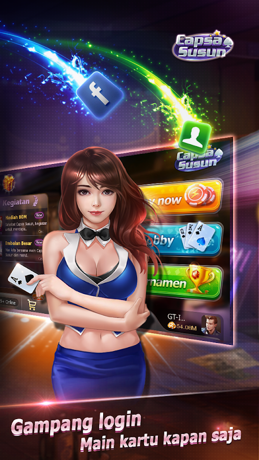 Capsa Susun(Free Poker Casino) Screenshot 10