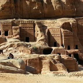 Wadi Rum, Petra. by Madeleine Wah - Landscapes Deserts