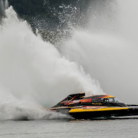 Water Spray by Ken Nicol - Sports & Fitness Watersports (  )
