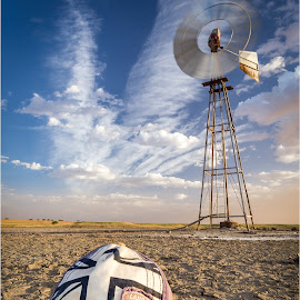 Land Rover Windmill by Brendon Muller - Artistic Objects Other Objects ( canon, photos by brendon, land rover, defender, windmill )