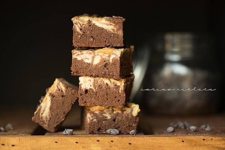 White Chocolate Peanut Butter Cheesecake Swirl Brownies Recipe ...