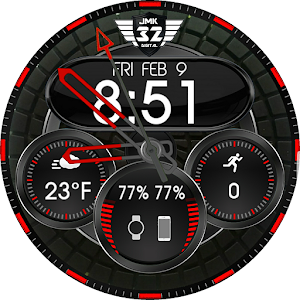 Download VIPER RED Watchface for WatchMaker For PC Windows and Mac