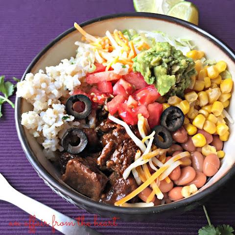 Fall Burrito Bowls with Maple Pork, Sweet Potatoes and Pepitas Recipe ...