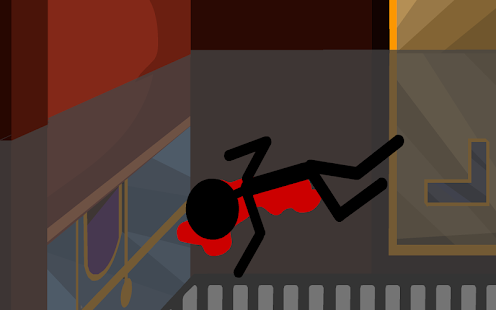 Stickman. Bloody cinema ticket- screenshot thumbnail