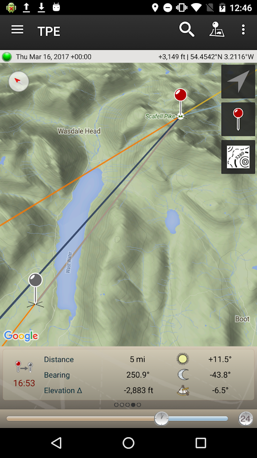 The Photographer's Ephemeris Screenshot 2