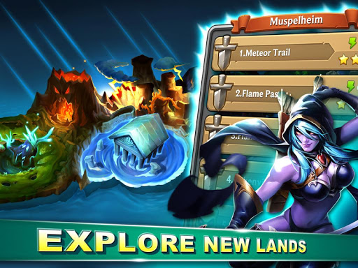 Heroes League: War of Legends - screenshot