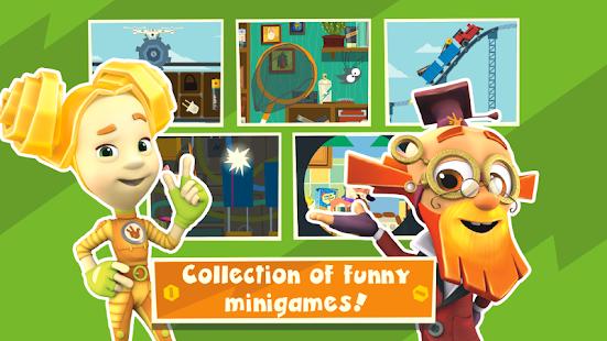 Fiksiki Town Games Free & Preschool Learning Games APK for Bluestacks