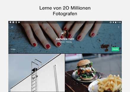 EyeEm - Foto Filter Kamera Screenshot