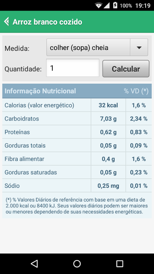 Nutrihelper PRO Screenshot 2