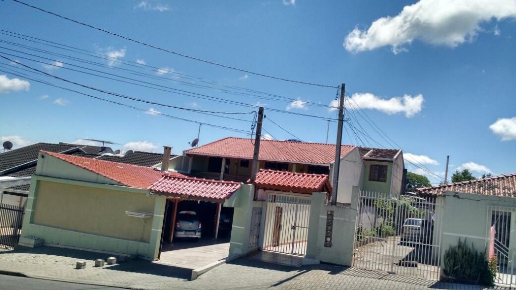 Sobrado residencial à venda, Fazenda Velha, Araucária - SO01...