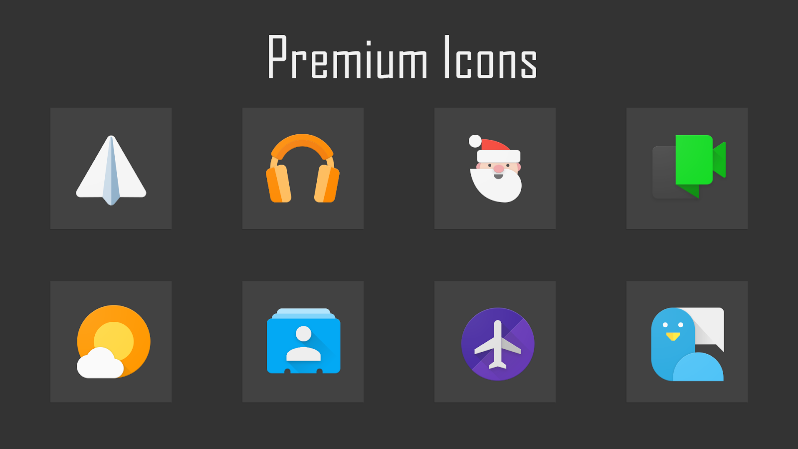 Fabulous - Icon Pack Screenshot 1
