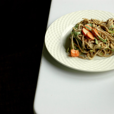 Soba with Peanut-Citrus Sauce