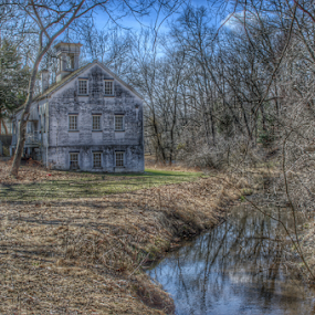 HDR Allaire State Park NJ by Steve Friedman - Buildings & Architecture Public & Historical ( allaire village, hdr, landscape photography, historical, scenic,  )
