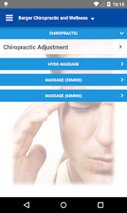 Berger Chiropractic - screenshot