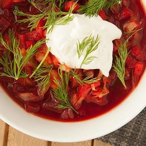 Spicy Borscht Soup