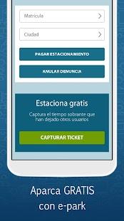 App e-park, Aparcamiento regulado apk for kindle fire