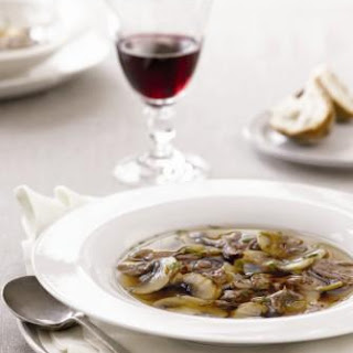 Beef and Mushroom Soup