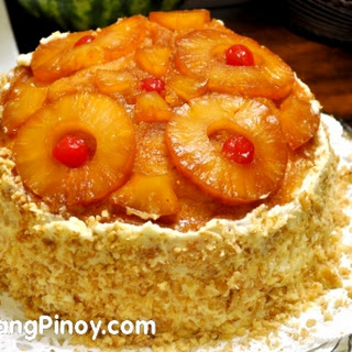 Pineapple Cake with Cream Cheese Frosting
