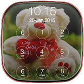 Teddy Bear Passcode Lockscreen APK for Bluestacks