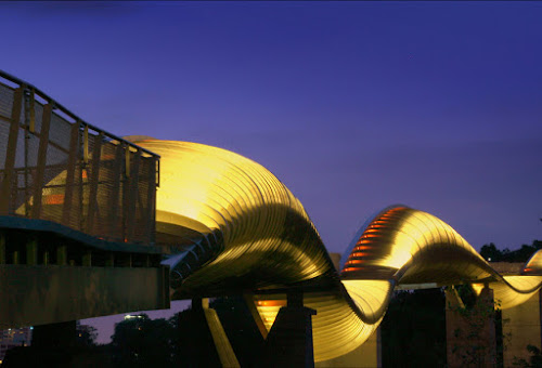 The Waves by Barry Allan - Buildings & Architecture Bridges & Suspended Structures