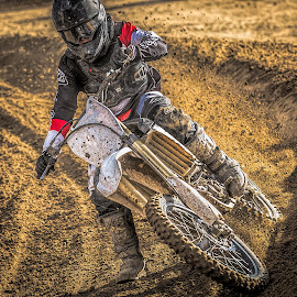 Motocross by Thomas Dilworth - Sports & Fitness Motorsports ( motocross, racing, moto, dirtbike, motorcycle )