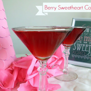 Berry Sweetheart Cocktail