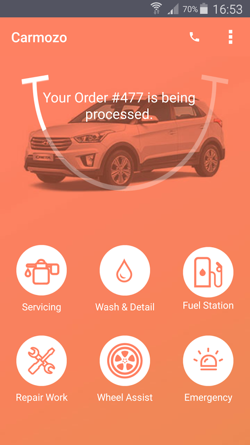 Carmozo - Car Service & Repair Screenshot 0