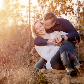 Golden Hour by Lodewyk W Goosen (LWG Photo) - People Couples ( love, couple, golden hour, couples )