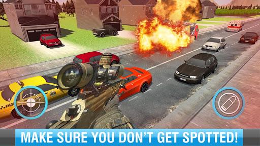 Sniper Assassin Traffic Hunter - screenshot