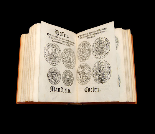 This merchant's handbook from the 1500s, complete with detailed illustrations and inscriptions, aided merchants in identifying currencies from many states across Europe. This helped traders better understand the different values of each currency and how these related to one another.