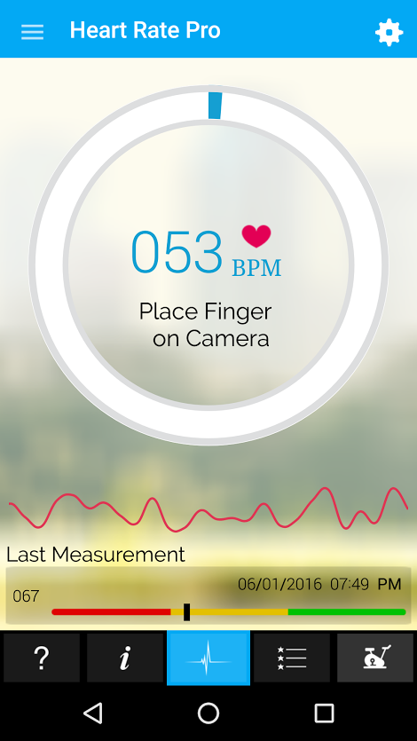 Heart Rate Monitor Pro Screenshot 2