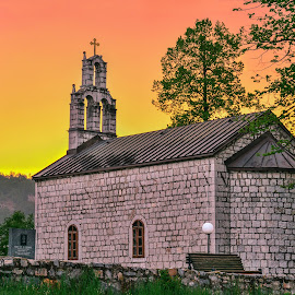 Church by Bojan Kuburovic - Buildings & Architecture Statues & Monuments ( amazing, montenegro, monuments, building, church, colours )