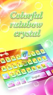 Colorful Rainbow Crystal- screenshot