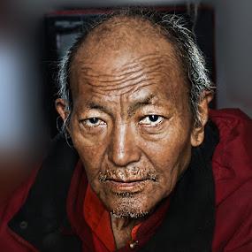 Eyes! by Veeresh Pathania - People Portraits of Men