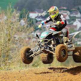 Quad number 58 by Gérard CHATENET - Sports & Fitness Motorsports