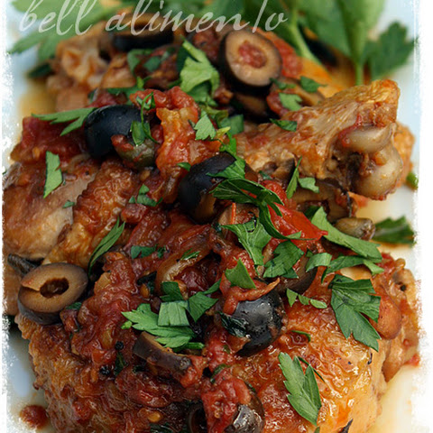 Galletti alle Olive {Chicken with Olives}