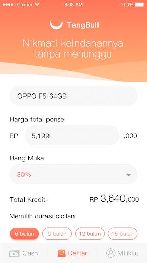 TangBull - Pinjaman Uang Dana Aman & Cepat screenshot 4