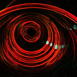 eye by Paul Wante - Digital Art Abstract ( abstract, orange, art, digital, eye )